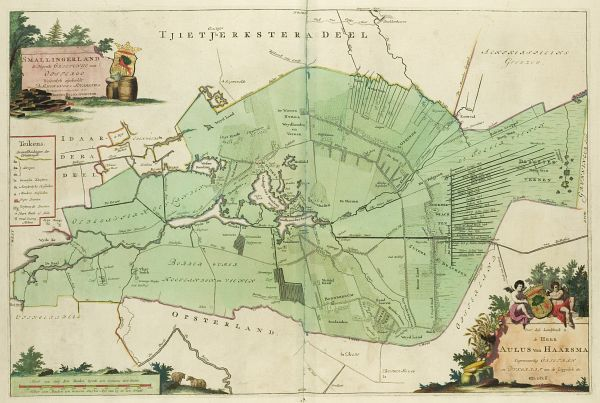 Smallingerland in de atlas van Schotanus